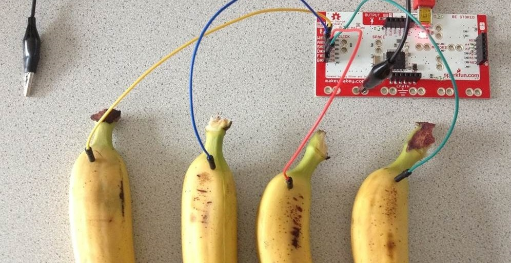Bananapiano with Scratch and MaKey MaKey